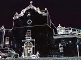 San Jose Church, San Juan, PR with glow filter