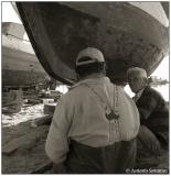 14 Jan 2006 Boatyard workers
