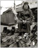 26 Jan 2006 Portrait of a shoe-seller
