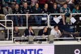 Bob Errey (former Shark) and Paul Steigerwald are the voices of Penguins hockey in San Jose