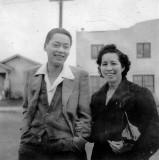 Raymond Lowe and Elizabeth Jeong