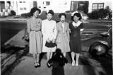 Barbara, Seenie, Elizabeth, Rowena