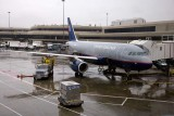 United Airlines Airbus A319 N832UA This is the plane that will take us to Vancouver BC