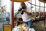 Photographing my burger