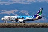 8/8/2010  Alaska Airlines Boeing 737-490 Spirit of Alaska Statehood N705AS