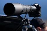 8/14/2010  Looks like a Nikon D300 with a 500mm lens