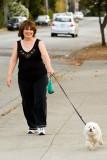 10/3/2010  Walking the dog