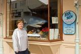 Gail at Cannery Row