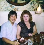 Gail's birthday dinner  12/28/1989