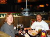 Gail and Elliot having lunch at On The Border for her birthday  12/28/2001