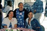 Gina, Florence and Shanai