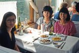 Lunch on the train to Nanjing, China