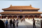 The Hall of Celestial Purity, Forbidden City, Beijing, China