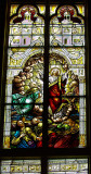 Jesus is Risen stained glass window from St John Cantius Roman Catholic Church.jpg