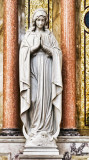 statue of Blessed Virgin Mary at St Francis Xavier church in LaGrange IMG_7585.jpg