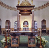 Altar at St Francis Xavier Roman Catholic Church in LaGrange Il IMG_7574.jpg