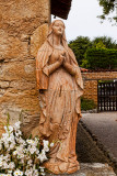 Statue of Blessed Virgin Mary Mission San Carlos Borromeo del Rio Carmelo Roman Catholic Church in Carmel CA MG_5330.jpg