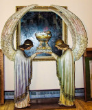 Angels holding Jesus St John Cantius Roman Catholic Church Chicago Il Museum.jpg