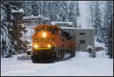 Empty Coal Train at the East Portal