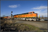 BNSF 7205 @ Lowell