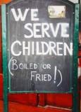 We serve children