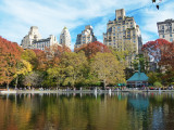 An autumn day in Central Park