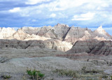beautiful light in the badlands