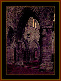 TINTERN ABBEY, SOUTH WALES, Y.2002 MANIPULATED