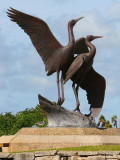 Whooping Crane Statue
