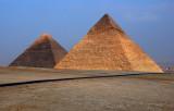 Lighting up the Pyramids