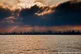Sunrise over Tel Aviv
