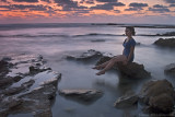 Laura, Jiser A' Zarka Beach