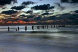 Sunset on Beit Yanai  Beach
