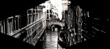 Venezia , West Side View  from  The Bridge of Sighs
