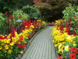 The Butchart Gardens in Victoria