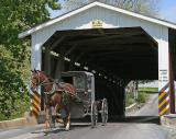 Covered Bridge Amish