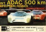 1971 ADAC-500 km Nurburgring Brian Redman Chevron Wins