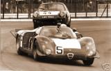 Schutz-Bianchi Alfa Romeo T33 Nurburgring Race Photo