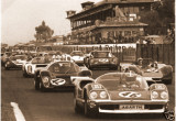 Ed Swart Abarth Nurburgring 1969 Racing Race Photo