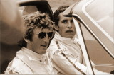 Jacki Ickx and Jocken Rindt in a 914-6