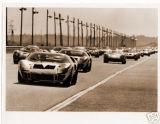 CARS ON THE PACE LAP, 24 HRS DAYTONA 1966