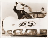 Jo Bonnier enters the Chaparral 2D he shared with Phill Hill, 24 HR Daytona 1966