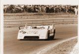 Jo Siffert heads for 3rd in Porsche 917-10 Watkins Glen Can-Am 1971