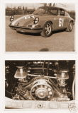 PORSCHE 911 RACE CAR 1968