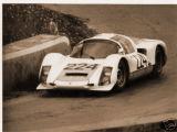 Porsche 906-8 of Klass-Davis before accident hampered its progress, Targa Florio 1966