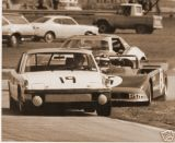 Porsche 914-6 of Florida State Senator Dave McClain and Dave White during practice at 6 Hours of Daytona 1972