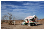 Salvation Mountain Wagon