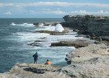 Fishermen near Cape Banks