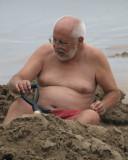 Fun at Hot Water Beach