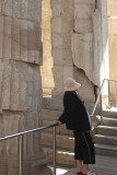 Acropolis -  Propylea with Woman in Black.jpg